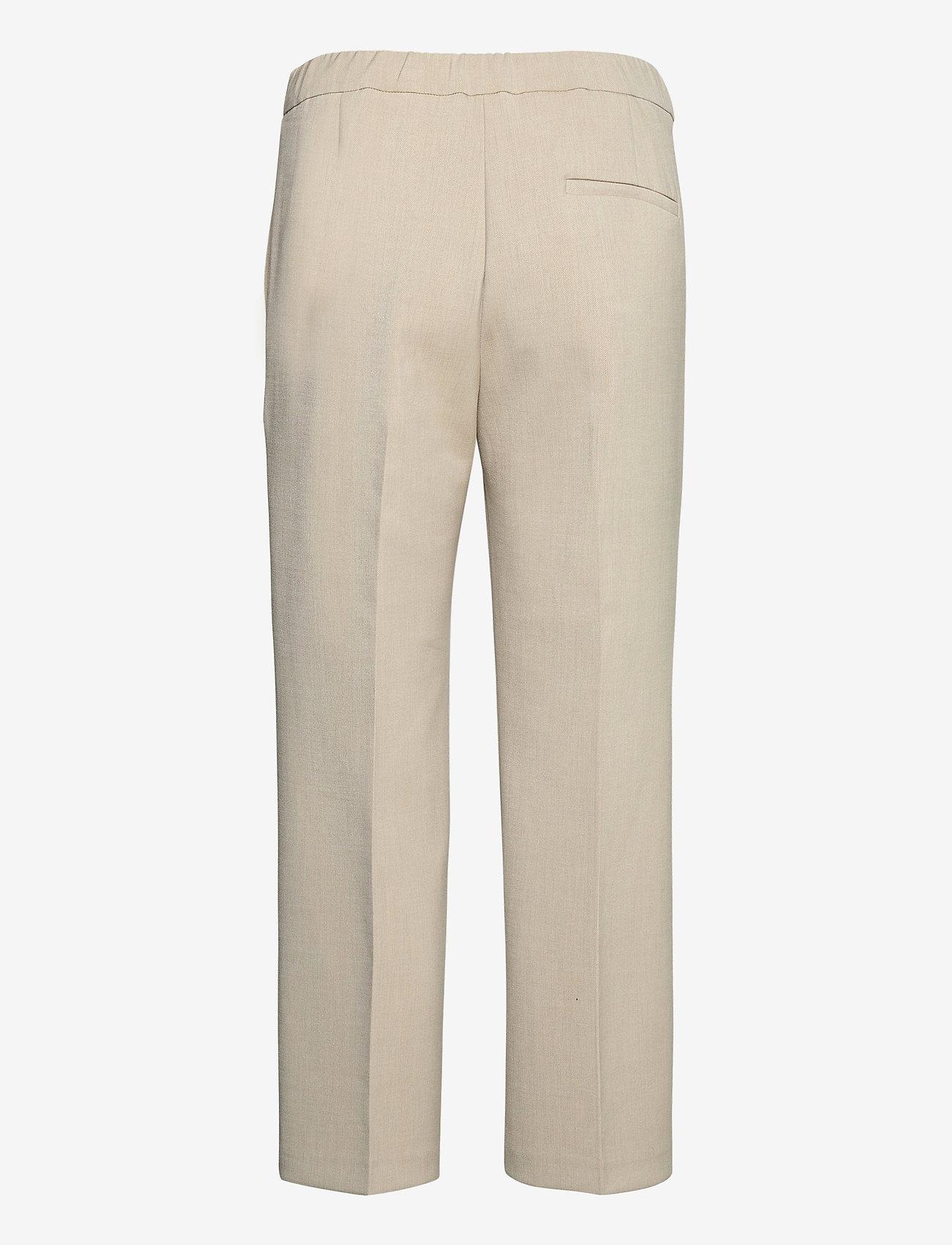 Marimekko - HAKKU COLOR TROUSERS - bukser med lige ben - off-white - 1