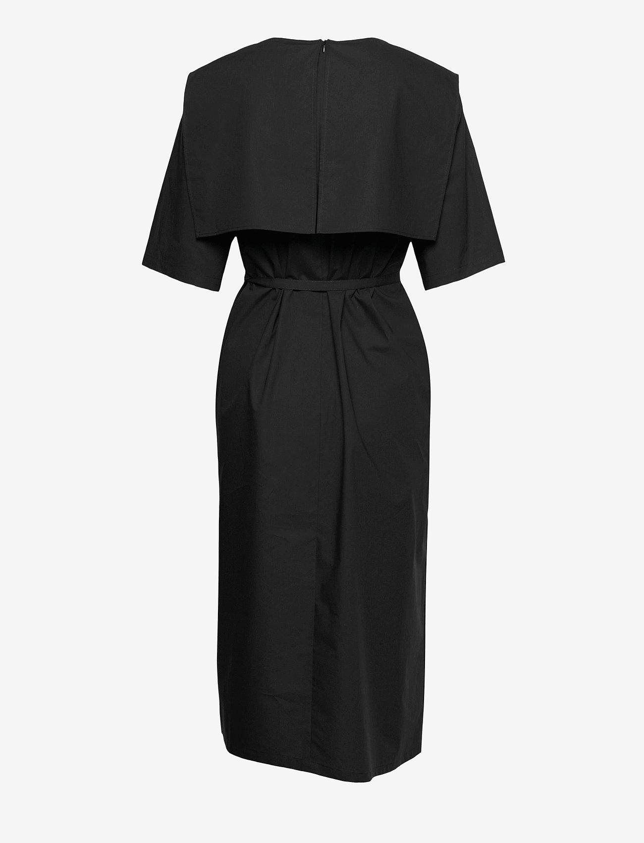 Marimekko - NELIKULMIO SOLID DRESS - hverdagskjoler - black - 1