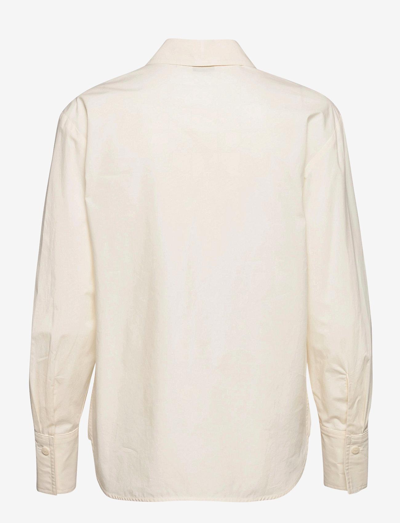 Marimekko - VEYTYS TAIFUUNI SHIRT - langærmede skjorter - white, turquoise, red - 1