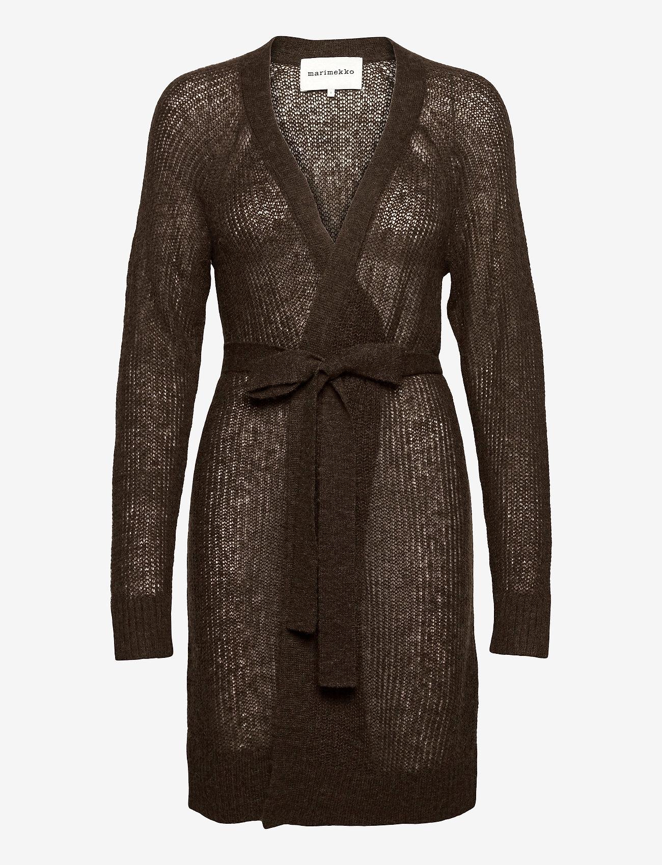 Marimekko - FRUSTUM CARDIGAN - cardigans - brown - 0