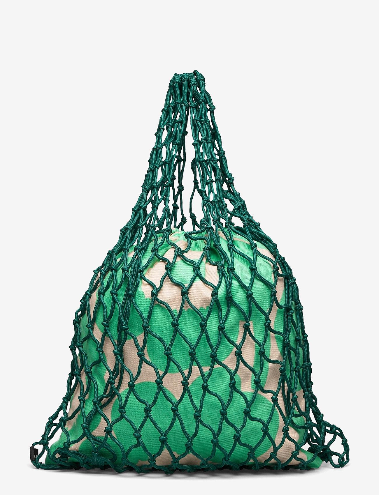 Marimekko - BARITA PIENI UNIKKO BAG - tote bags - dark green, green, beige - 0