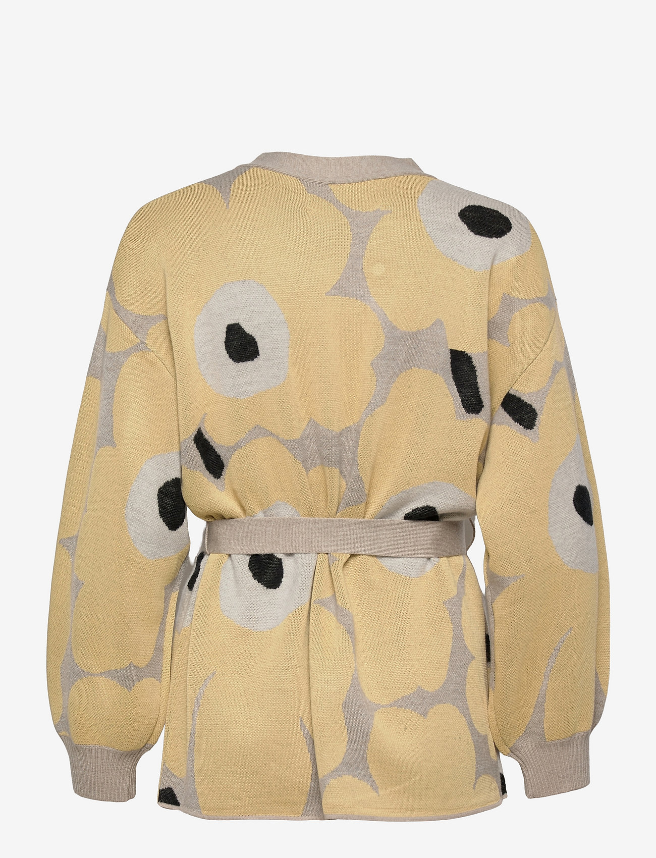 Marimekko - UNEKSUVA UNIKKO CARDIGAN - cardigans - beige,light yellow,black - 1