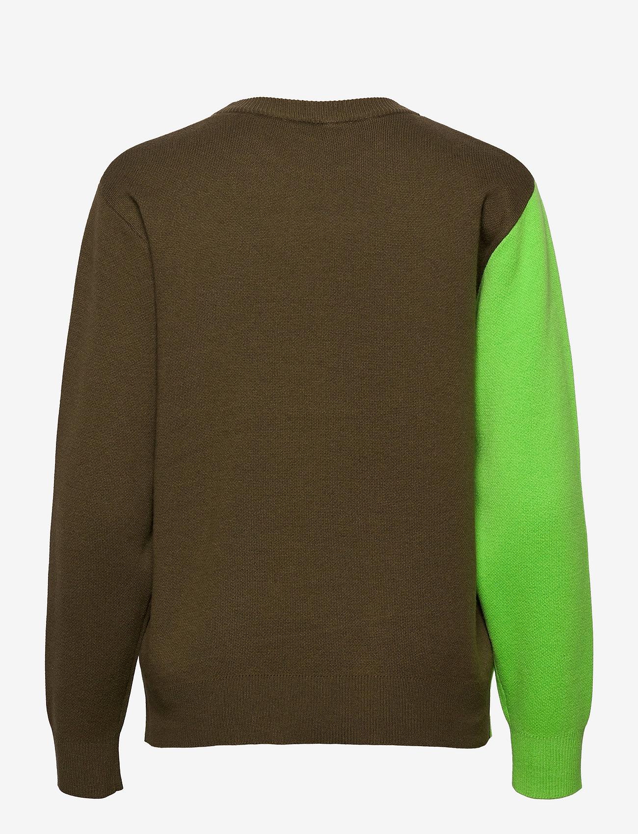 Marimekko - SINIRINTA PULLOVER - trøjer - bright green, dark olive - 1