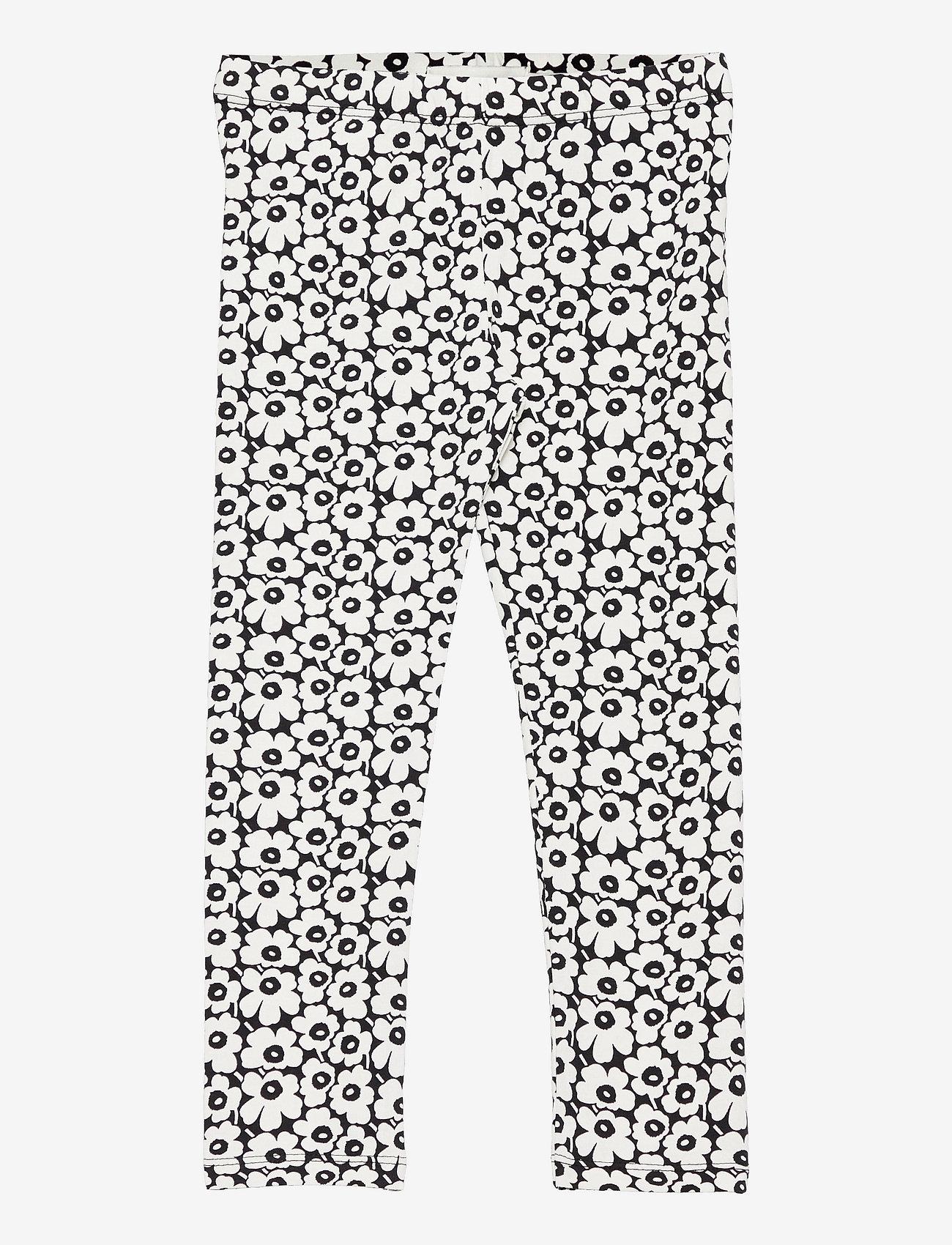 Marimekko - LAIRI PIKKUINEN UNIKKO - bukser - black, off white - 0