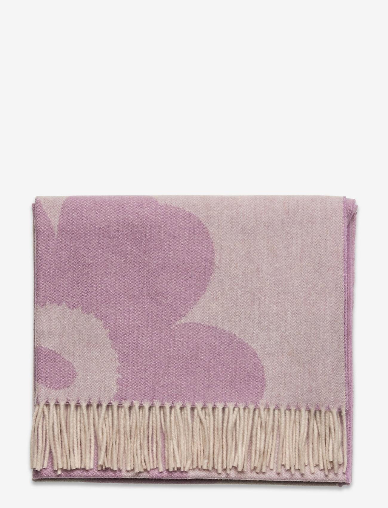 Marimekko - SUE JACQUARD JUHLA-UNIKKO SCARF - halstørklæder - lilac, cream - 1