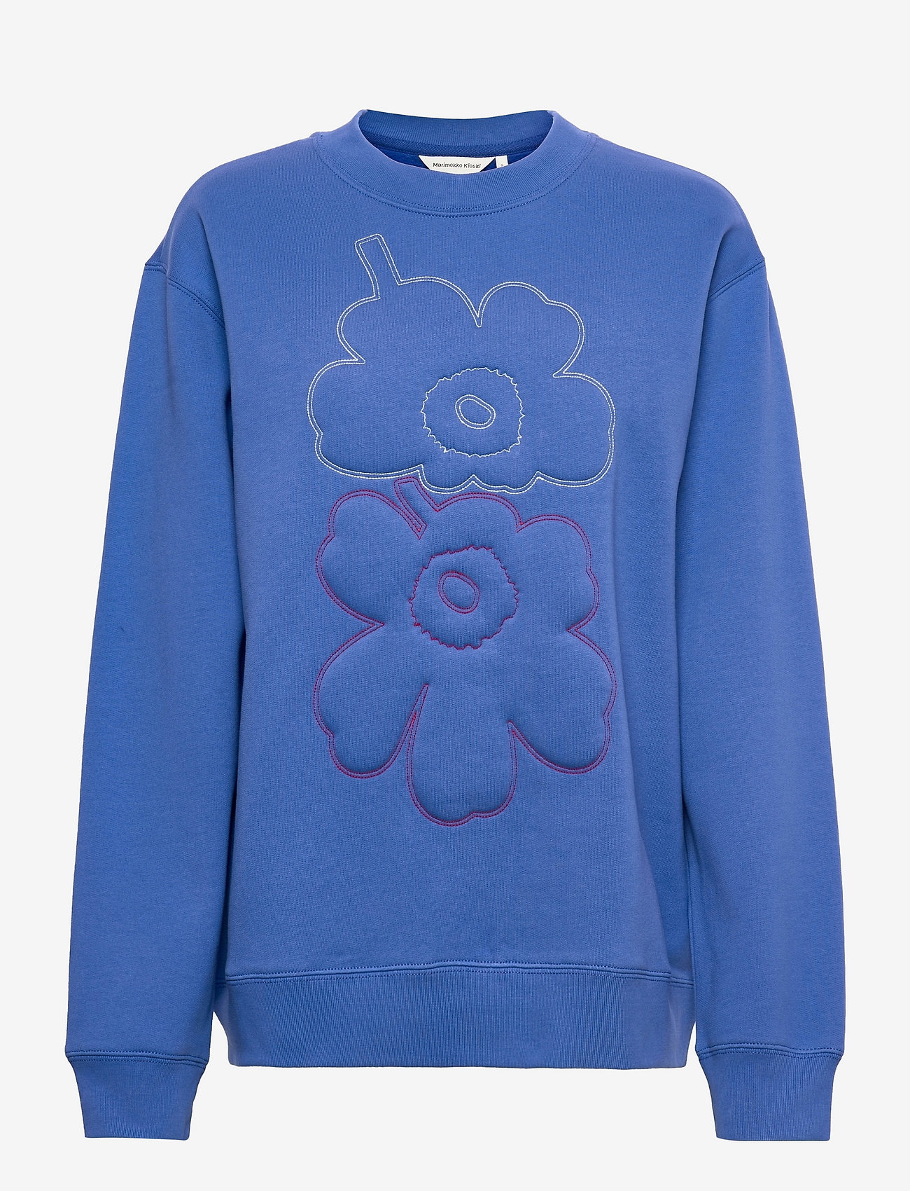 Marimekko - HUIPENNUSTA UNIKKO SWEATSHIRT - sweatshirts - blue, multicolored - 0