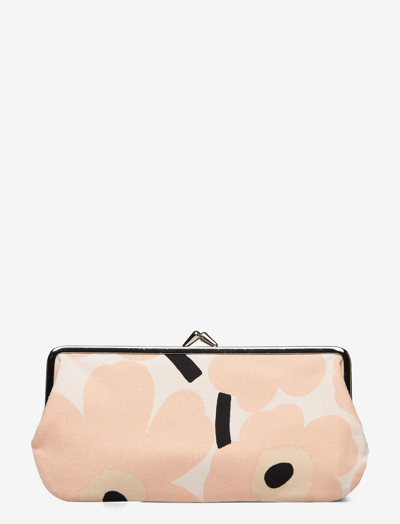 Marimekko - SILMÄLASI KUKKARO MINI UNIKKO PURSE - clutches - off white,peach,black - 1