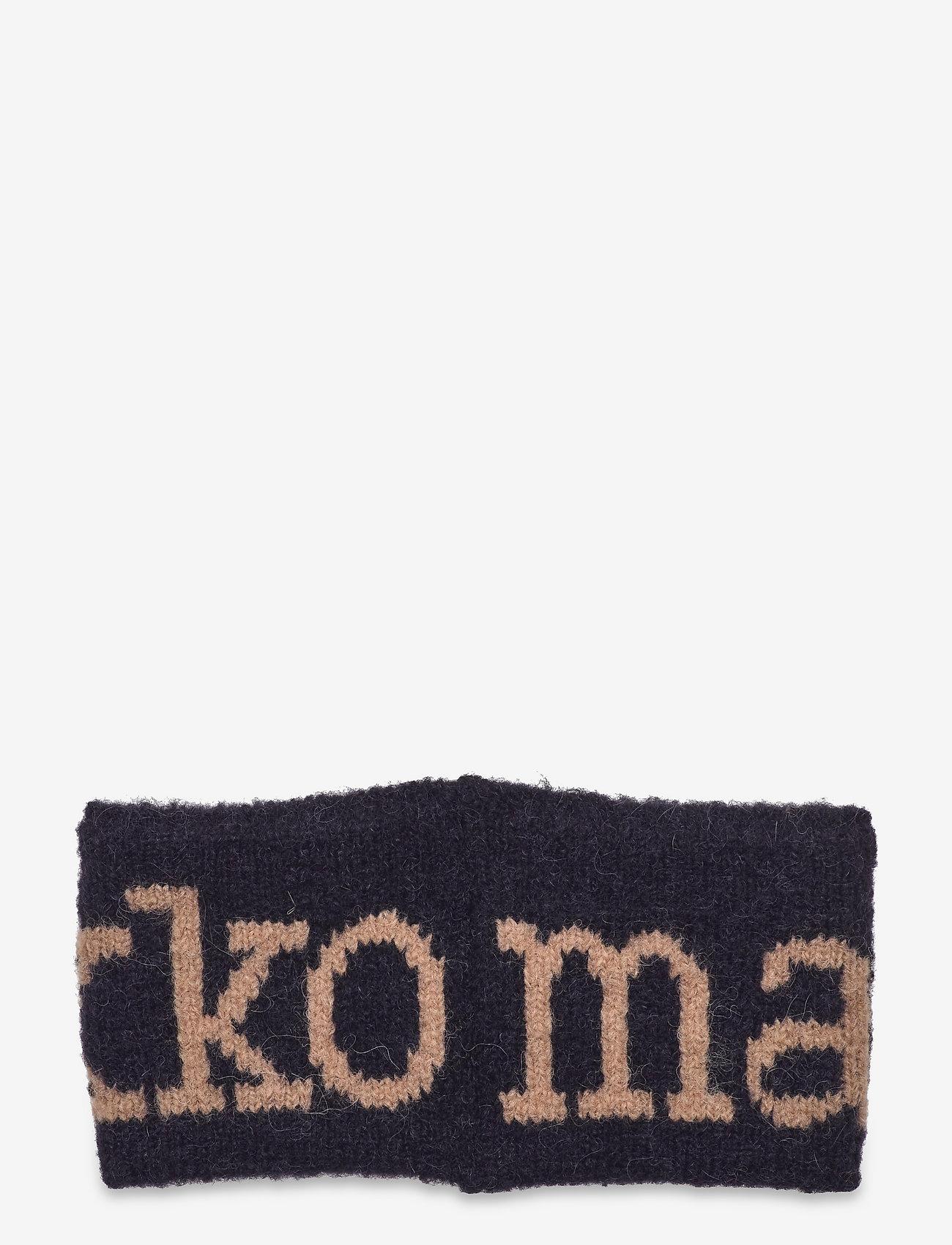 Marimekko - VARSANKELLO HEADBAND - hårbånd - black, beige - 1