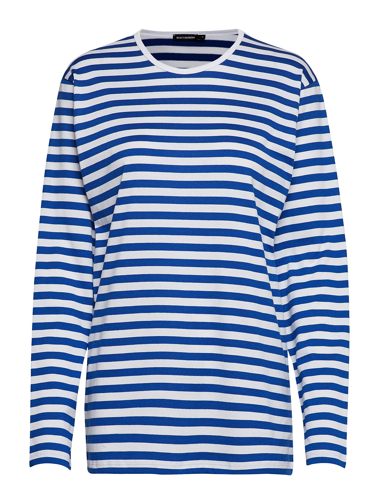 PitkÄHiha 2017 Shirt T-shirts & Tops Long-sleeved Sininen Marimekko