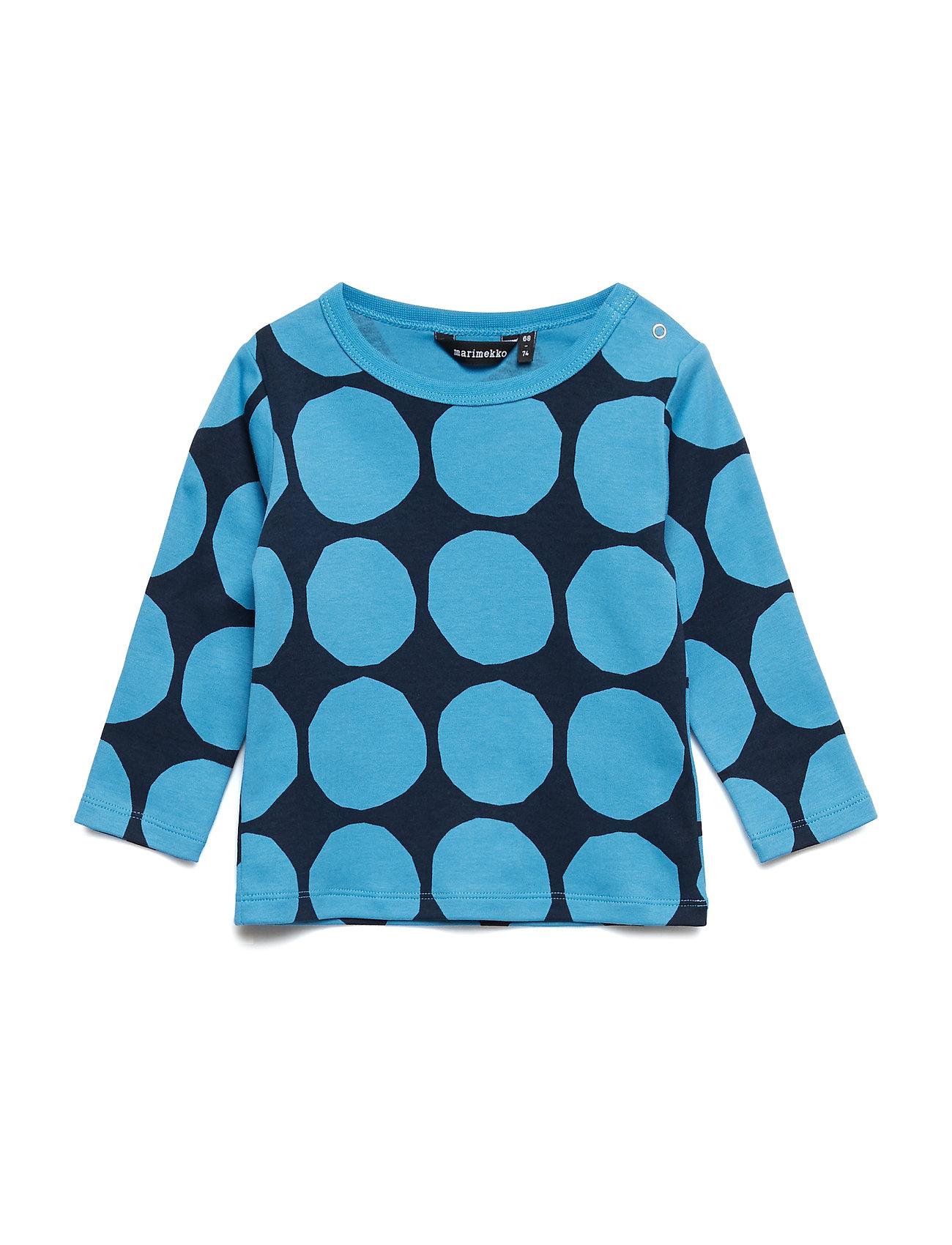 Marimekko RUUPERTTI MINI KIVET 1 Shirt - BRIGHT BLUE, DARK BLUE