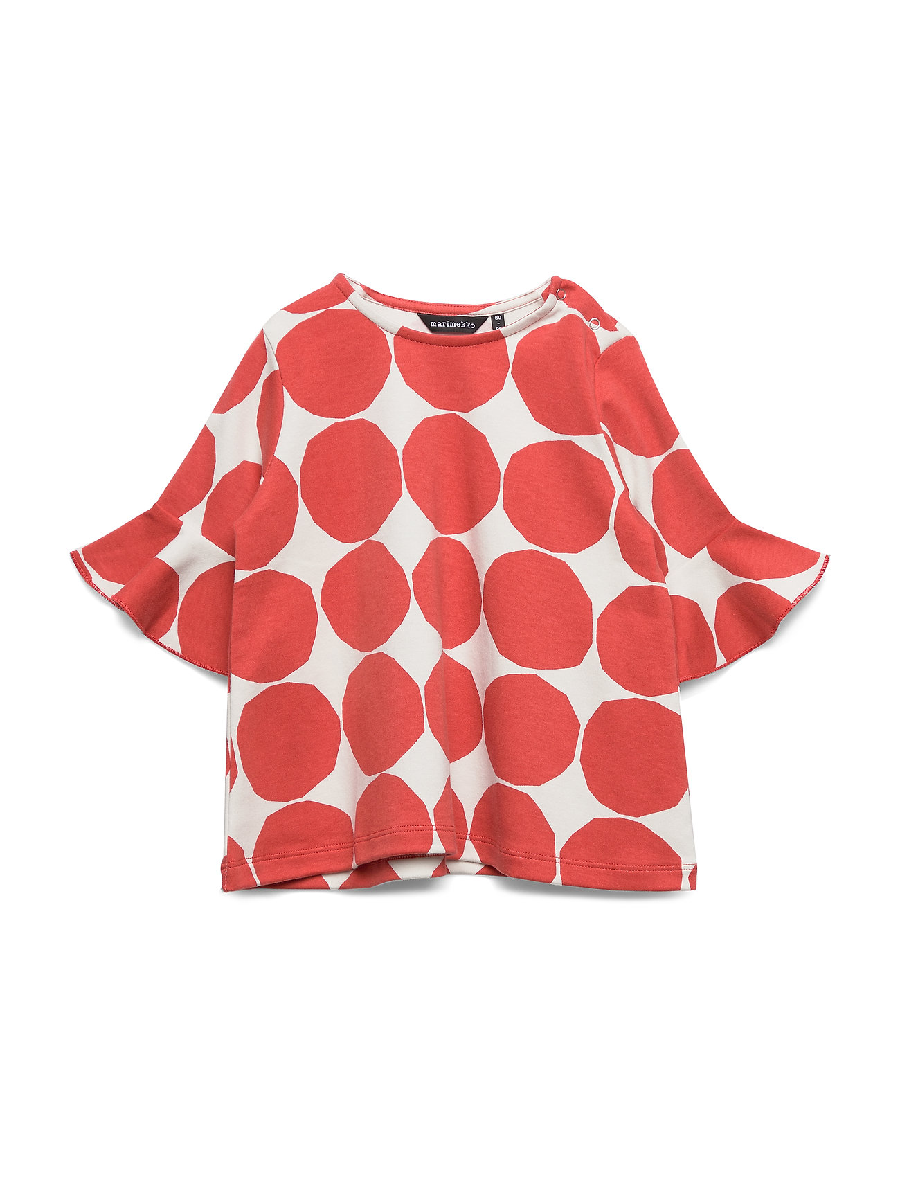 Marimekko RUUPERTTI MINI KIVET 1 Shirt - LIGHT GREY, ORANGE