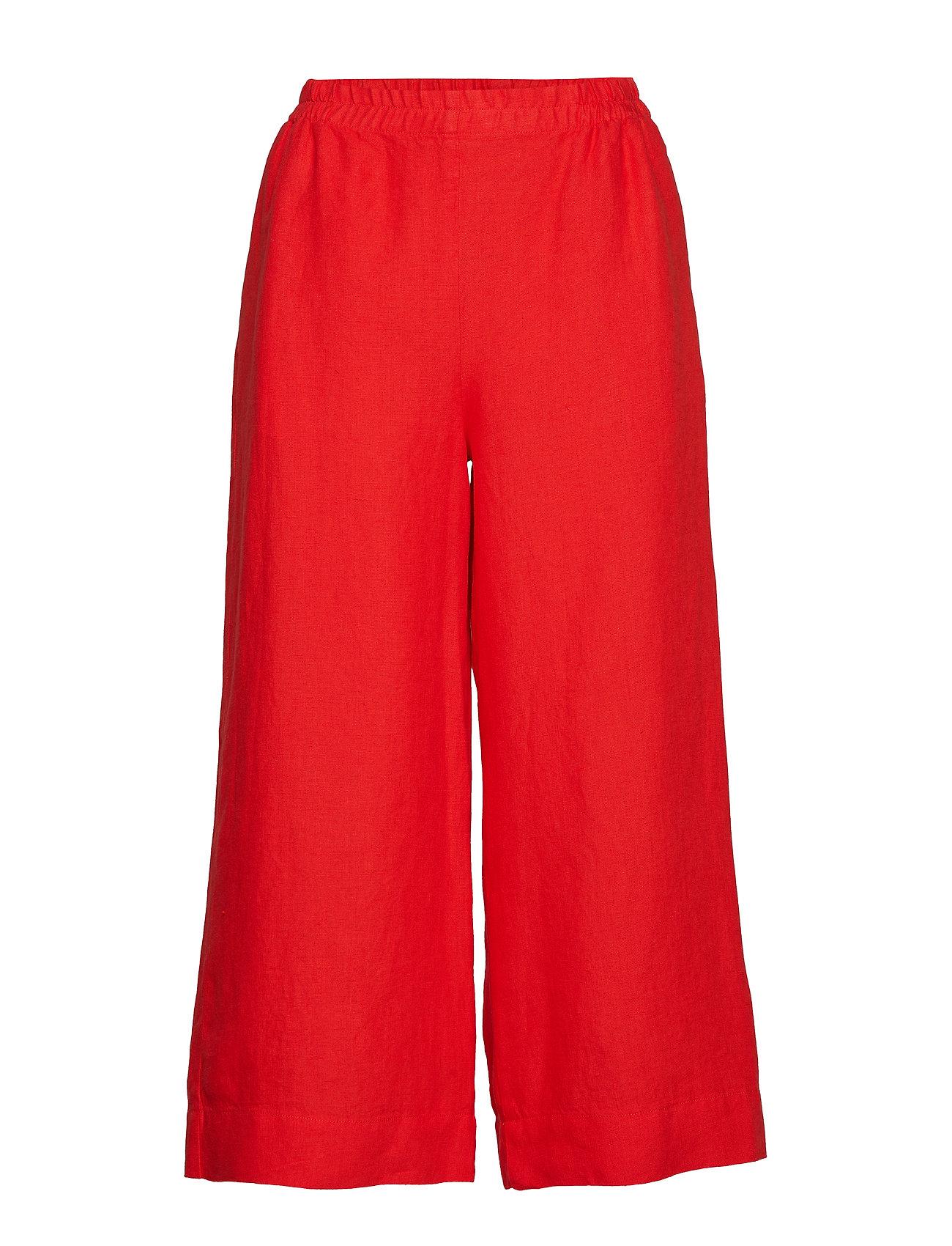 Marimekko TUULELMA SOLID Trousers - RED