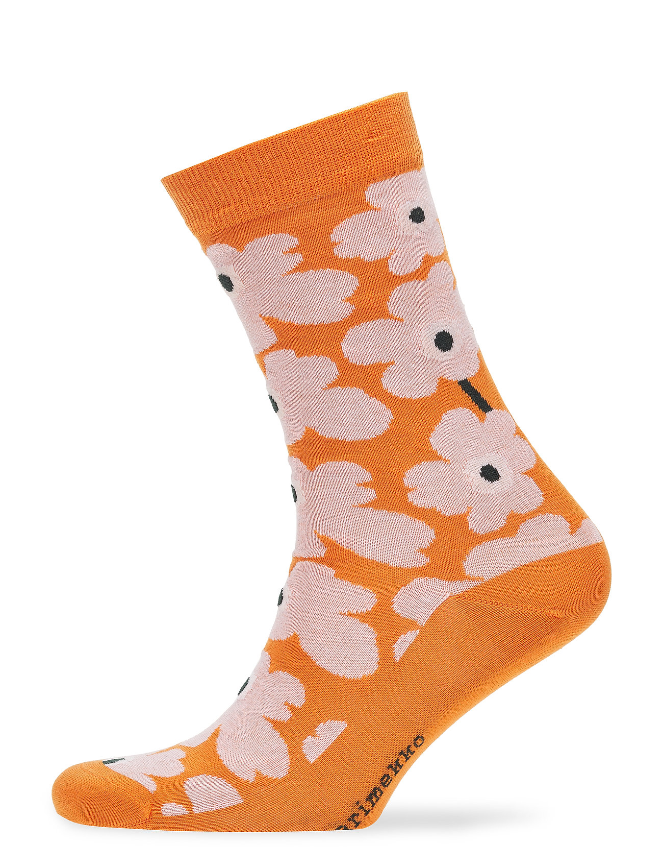 Marimekko HIETA Ankle socks - ORANGE, PINK, DARK GREEN