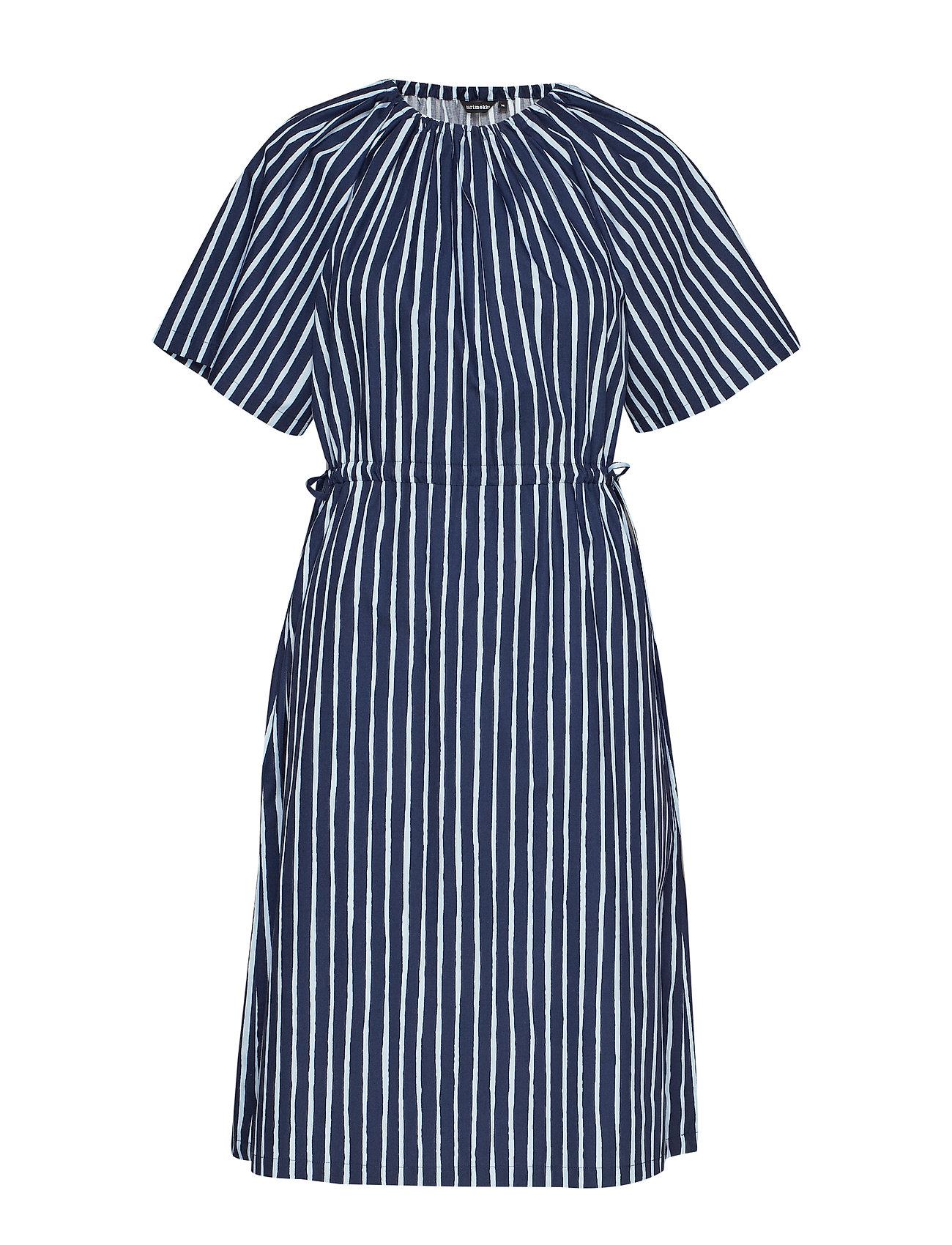 Marimekko SAMMAL PICCOLO Dress - DARK BLUE, BLUE
