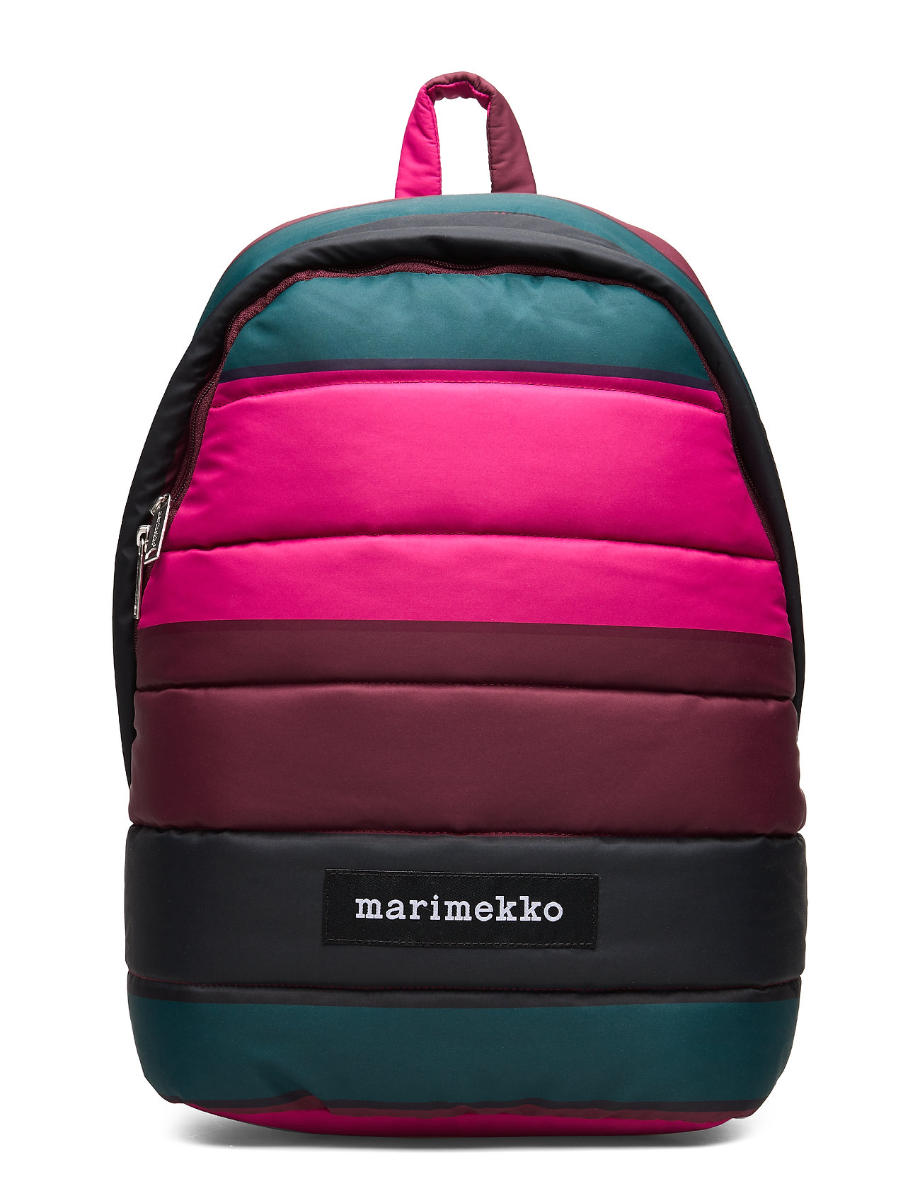 Marimekko LOLLY VIIMA backpack - PINK,DARK GREEN,BLACK