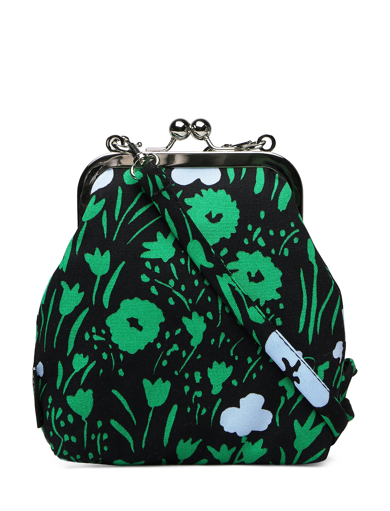 Marimekko ROOSA PIKKULEMPI Bag - BLACK,LIGHT BLUE,GREEN