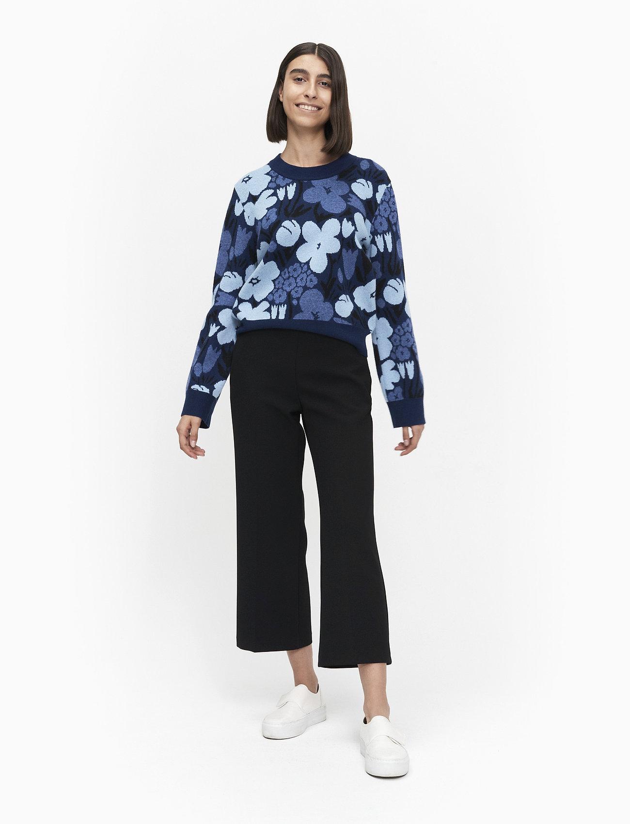 Marimekko Kotva Talkoot Knitted Pullover - Stickat
