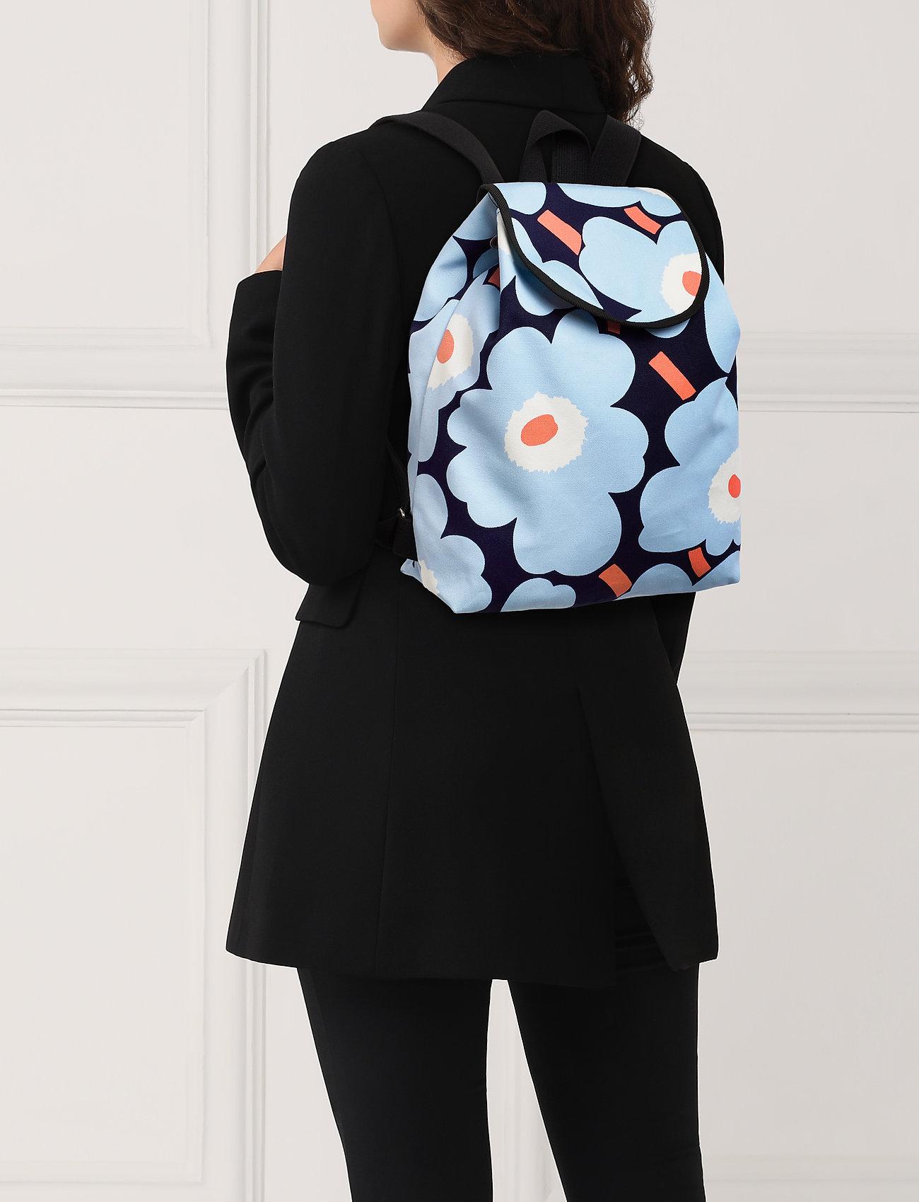 the cheapest later super specials Erika Pieni Unikko Backpack (Blue,white,peach) (145 €) - Marimekko ...