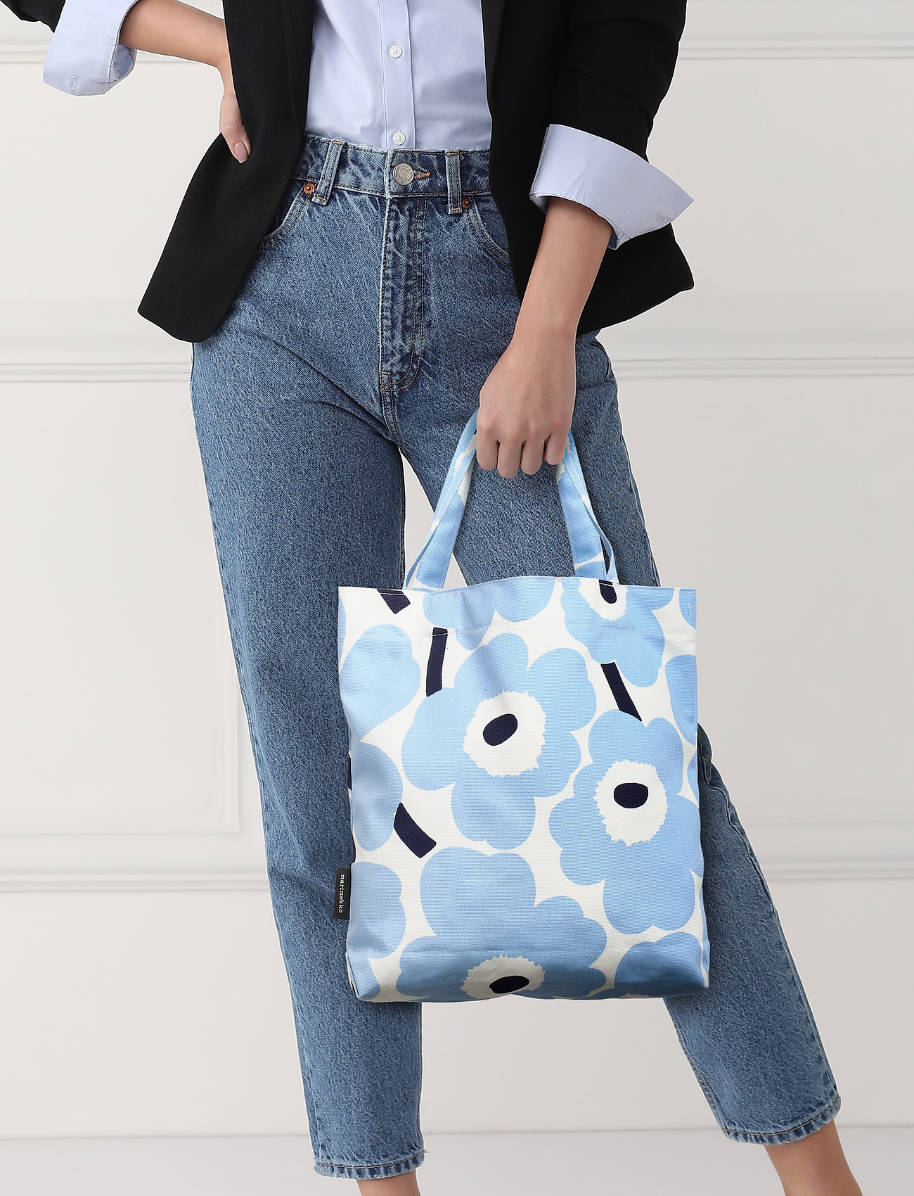 Marimekko NOTKO PIENI UNIKKO Bag - WHITE,LIGHT BLUE,DARK BLUE