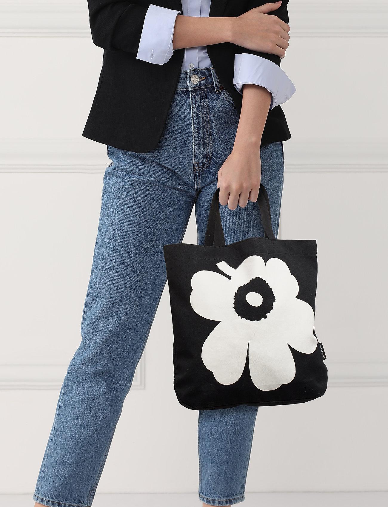 Marimekko TORNA UNIKKO Bag - BLACK,WHITE