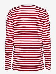 Marimekko - PITKÄHIHA 2017 Shirt - langærmede toppe - white, red - 1