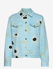Marimekko - RANTA UNIKKO JACKET - vestes en jean - blue, green, turquoise - 1