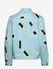 Marimekko - RANTA UNIKKO JACKET - vestes en jean - blue, green, turquoise - 2