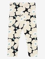 Marimekko - LAIRI MINI UNIKOT TROUSERS - leginsy - black, beige, light green - 1