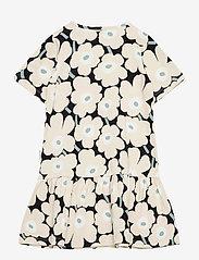 Marimekko - IHAILLA MINI UNIKOT DRESS - sukienki - black, beige, light green - 1