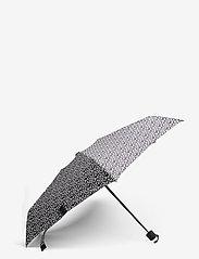 Marimekko - MINI MANUAL UNIKKO UMBRELLA - paraplyer - off white, black - 0