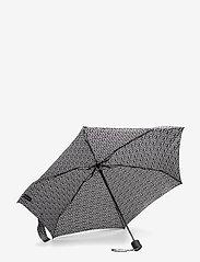 Marimekko - MINI MANUAL UNIKKO UMBRELLA - paraplyer - off white, black - 1