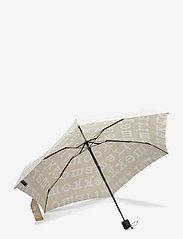 Marimekko - MINI MANUAL LOGO UMBRELLA - paraplyer - beige, off white - 1