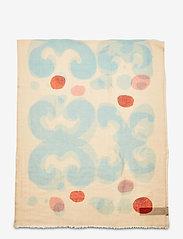 Marimekko - FIORE KEIDAS SCARF - tørklæder - beige, blue, red - 1