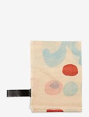 Marimekko - FIORE KEIDAS SCARF - tørklæder - beige, blue, red - 2
