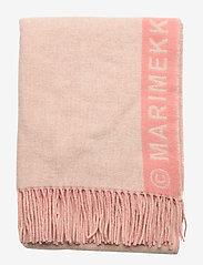 Marimekko - SIIME SCARF - tørklæder - beige, pink - 1