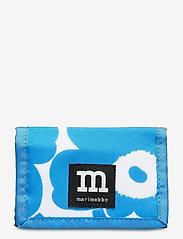 Marimekko - KOSKAAN MINI UNIKOT PURSE - punge - blue, white - 0