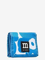Marimekko - KOSKAAN MINI UNIKOT PURSE - punge - blue, white - 2