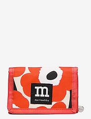 Marimekko - KOSKAAN MINI UNIKOT PURSE - punge - red, beige, black - 0