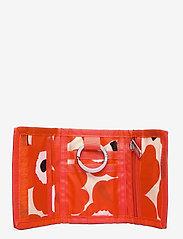 Marimekko - KOSKAAN MINI UNIKOT PURSE - punge - red, beige, black - 3