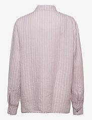 Marimekko - JOKAPOIKA 2017 LINEN SHIRT - langærmede skjorter - lavender, off-white - 1