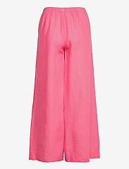 Marimekko - MAHTAVA SOLID TROUSERS - bukser med brede ben - rose - 2