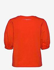 Marimekko - TUNSIT SOLID SHIRT - t-shirts - red - 2