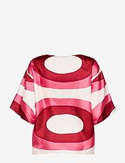 Marimekko - SILEÄ MELOONI SHIRT - kortærmede bluser - red, pink, beige - 2