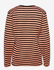 Marimekko - PITKÄHIHA SHIRT - langærmede toppe - dark orange, black - 1