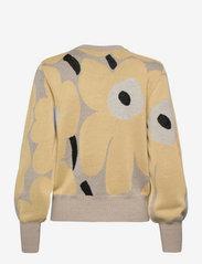 Marimekko - HELMIOKSA UNIKKO PULLOVER - trøjer - beige,light yellow,black - 1