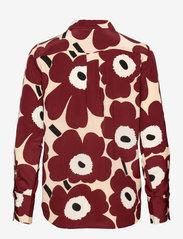 Marimekko - TOIVEIKAS PIENI UNIKKO 2 SHIRT - langærmede skjorter - sand, brown, off-white - 1