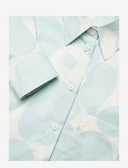 Marimekko - NORKKO PIENI UNIKKO 2 SHIRT - langærmede skjorter - off-white, light blue - 2