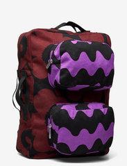 Marimekko - KUIKKA BACKPACK - rygsække - brown,black,purple - 2