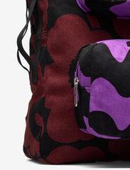 Marimekko - KUIKKA BACKPACK - rygsække - brown,black,purple - 3