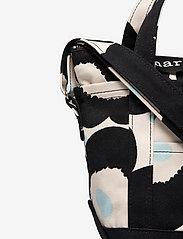 Marimekko - MILLI MATKURI PIENI UNIKKO 2 BAG - skuldertasker - off white,black,light blue - 3